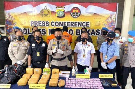 12 Kg Sabu dan 3.750 butir Ekstasi Disita Polisi